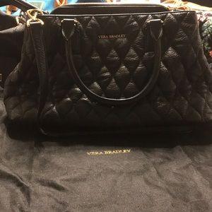 Vera Bradley leather Emma satchel